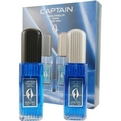 Captain Edt Spray 2.5 oz & Aftershave Spray 2.5 oz for men by Molyneux