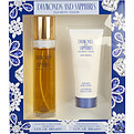 Diamonds & Sapphires Eau De Toilette Spray 3.3 oz & Body Lotion 3.3 oz for women by Elizabeth Taylor