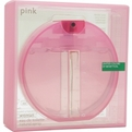 Inferno Paradiso Pink Eau De Toilette Spray 3.3 oz for women by Benetton