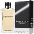 Silver Shadow Eau De Toilette Spray 3.4 oz for men by Davidoff