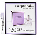 Exceptional-Because You Are Eau De Parfum .04 oz Vial for women by Exceptional Parfums