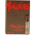 Minotaure Edt Vial On Card for men by Paloma Picasso