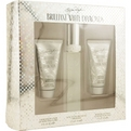 White Diamonds Brilliant Eau De Toilette Spray 1.7 oz & Body Lotion 1.7 oz & Body Wash 1.7 oz for women by Elizabeth Taylor