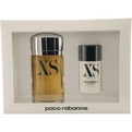 Xs Eau De Toilette Spray 3.4 oz & Deodorant Stick 2.2 oz for men by Paco Rabanne