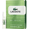 Lacoste Essential Eau De Toilette Spray Vial On Card for men by Lacoste
