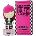 Harajuku Lovers Wicked Style Music Eau De Toilette Spray 1 oz for women by Gwen Stefani