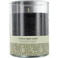 New Moon One 4.5 Inch Glass Pillar Scented Candle.  Burns Approx. 70 Hrs. for unisex by New Moon