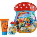 Smurfs 2 Piece Brainy Smurf Tin Can Set Includes Edt Spray 1.7 oz & Bubble Bath 2.5 oz for unisex