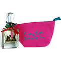Peace Love & Juicy Couture Eau De Parfum Spray 3.4 oz & Cosmetic Bag (Travel Offer) for women by Juicy Couture