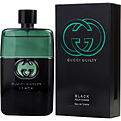 Gucci Guilty Black Pour Homme Eau De Toilette Spray 3 oz for men by Gucci