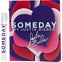 Someday By Justin Bieber Eau De Parfum Spray Vial On Card for women by Justin Bieber
