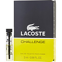 Lacoste Challenge Edt Vial for men by Lacoste