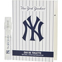 New York Yankees Eau De Toilette Spray Vial On Card for men by New York Yankees