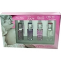 Paris Hilton Variety 4 Piece Womens Variety With Paris Hilton & Tease & Can Can & Dazzle And All Are Eau De Parfum Sprays .5 oz for women by Paris Hilton