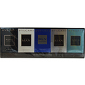 Bvlgari Variety 5 Piece Mini Variety With Bvlgari Aqua Marine & Blv & Bvlgari Man & Bvlgari Man Extreme & Bvlgari Aqua And Are Eau De Toilette .17 oz Minis for men by Bvlgari