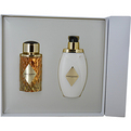 Boucheron Place Vendome Eau De Parfum Spray 3.4 oz & Body Lotion 6.7 oz for women by Boucheron