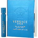 Versace Eros Eau De Toilette Spray Vial Mini for men by Gianni Versace