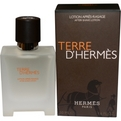 Terre d'Hermes Aftershave 1.7 oz for men by Hermes