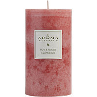 ONE 2.75 X 5 inch PILLAR AROMATHERAPY CANDLE.