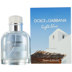 D & G Light Blue Living Stromboli Pour Homme