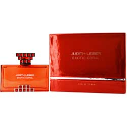 Judith Leiber Exotic Coral