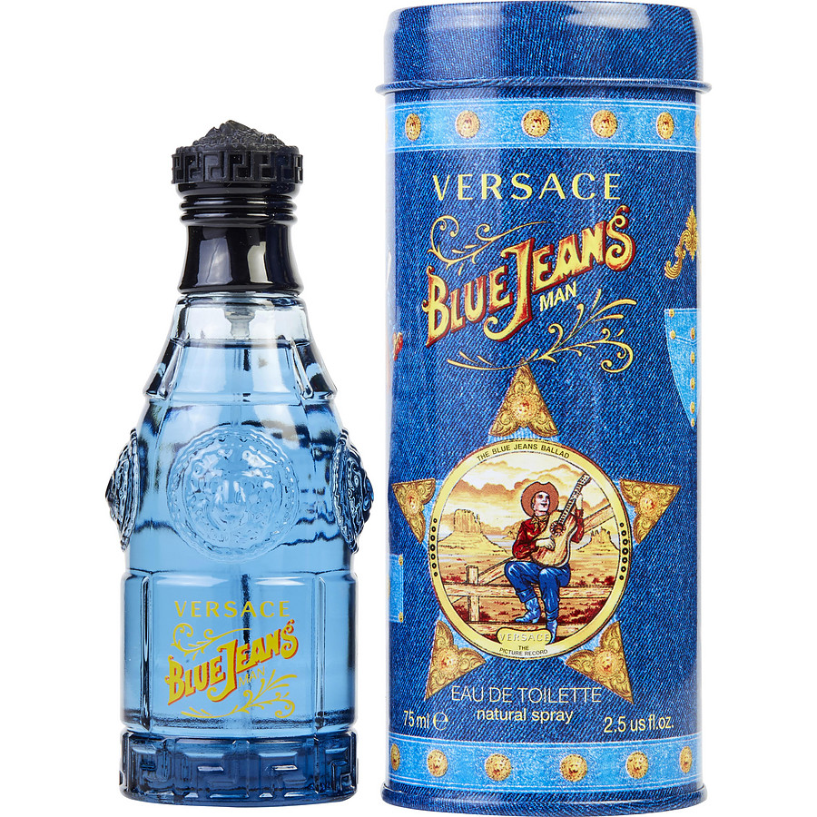 versace blue jeans eau de toilette. Black Bedroom Furniture Sets. Home Design Ideas