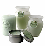 GREEN TEA & GINGER ESSENTIAL BLEND Scented Candles at FragranceNet.com® :  home perfume home scent
